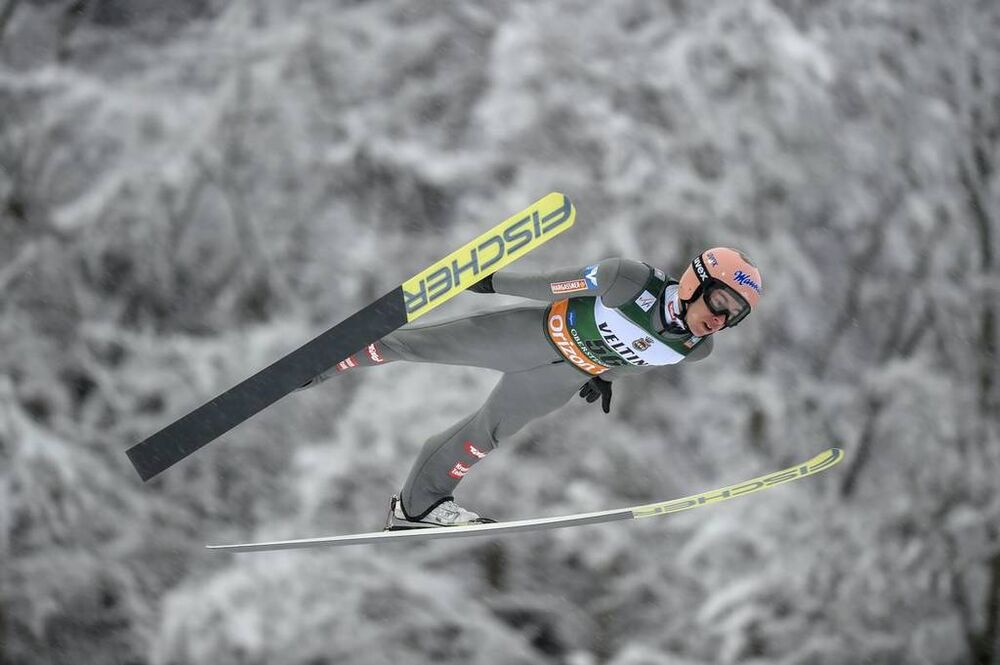 03.02.2019, Oberstdorf, Germany (GER):Stefan Kraft (AUT) - FIS ski flying world cup, individual HS235, Oberstdorf (GER). www.nordicfocus.com. © Thibaut/NordicFocus. Every downloaded picture is fee-liable.