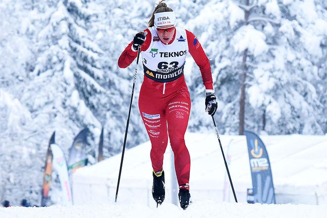 MARIA NORDSTRÖM, Borås SK vann Kristinaloppet i Norberg under lördagen. Här från SM i Sundsvall förra veckan. Foto/rights: ROLF ZETTERBERG/kekstock.com