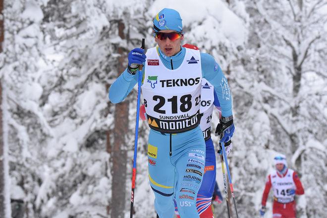 OSCAR PERSSON, SK Bore var klart starkast i Orsa Grönklitt Skimarathon under lördagen. Foto/rights: ROLF ZETTERBERG/kekstock.com