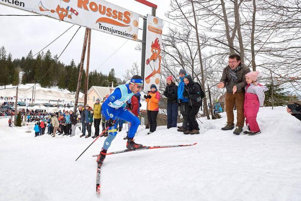 10.02.2019, Morez, France (FRA):Robin Duvillard (FRA) - FIS World Loppet LaTransjurassienne, Morez (FRA). www.nordicfocus.com. © Rauschendorfer/NordicFocus. Every downloaded picture is fee-liable.