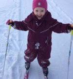 Mathilde Isaksen 4 år