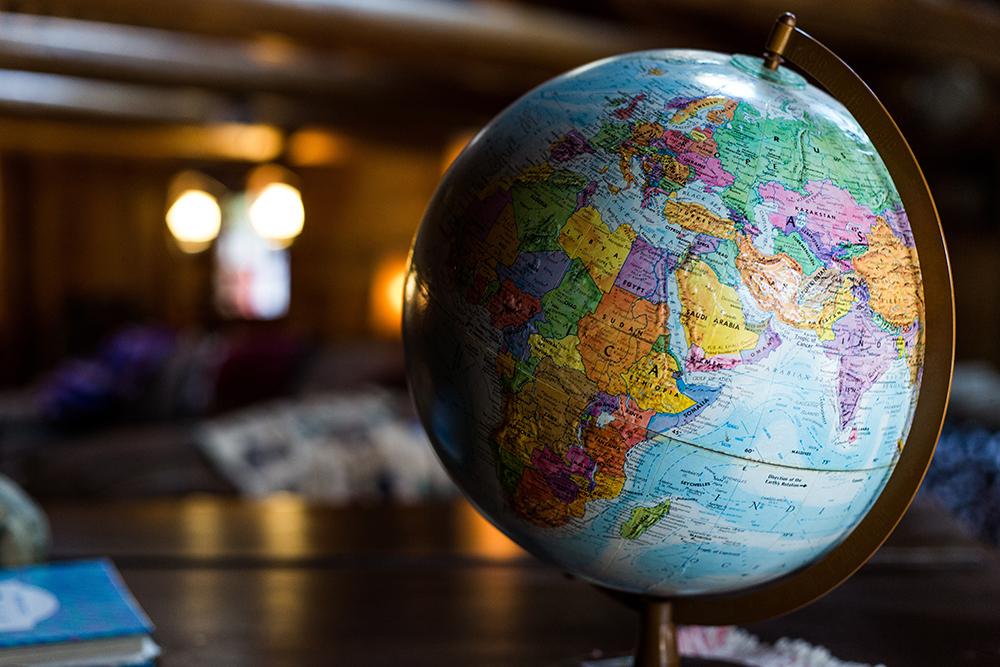 Illustrasjon Globus