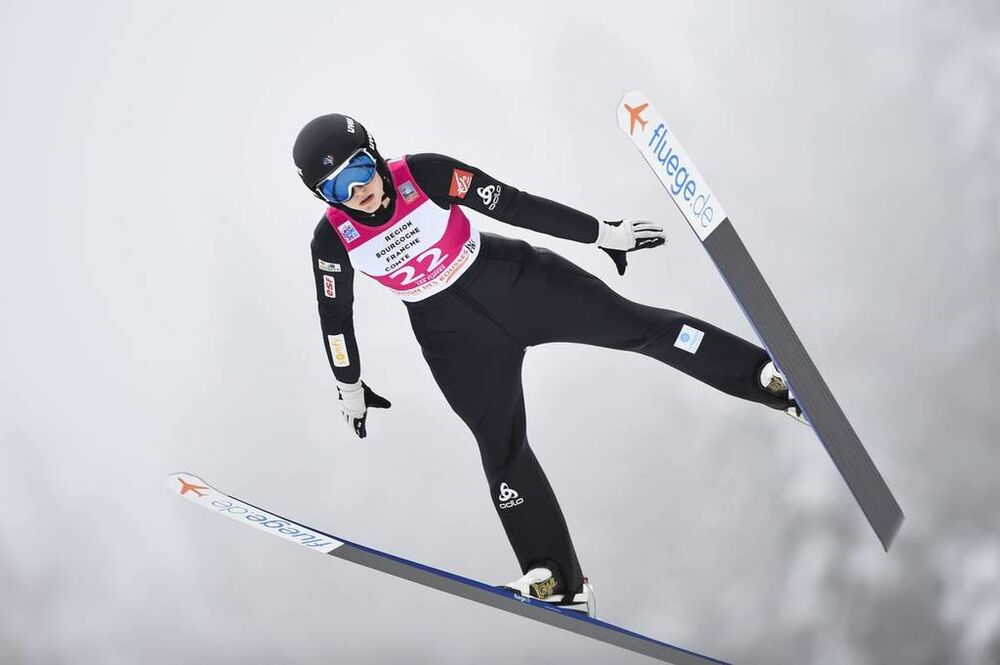 16.12.2018, Premanon, France (FRA):Josephine Pagnier (FRA) - FIS world cup ski jumping ladies, individual HS90, Premanon (FRA). www.nordicfocus.com. © Thibaut/NordicFocus. Every downloaded picture is fee-liable.