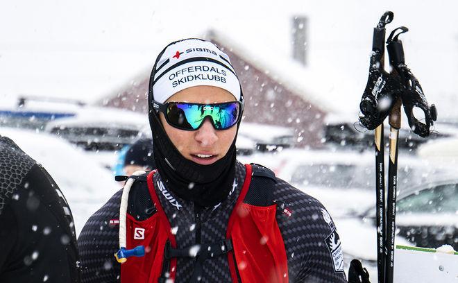 MAX NOVAK hade både styrkan och taktiken för att åka hem från Åsarna Ski Marathon med full utdelning. Foto: FILIP DANIELSSON