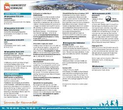 Kunngjøringer for Hammerfest kommune uke 7 2019