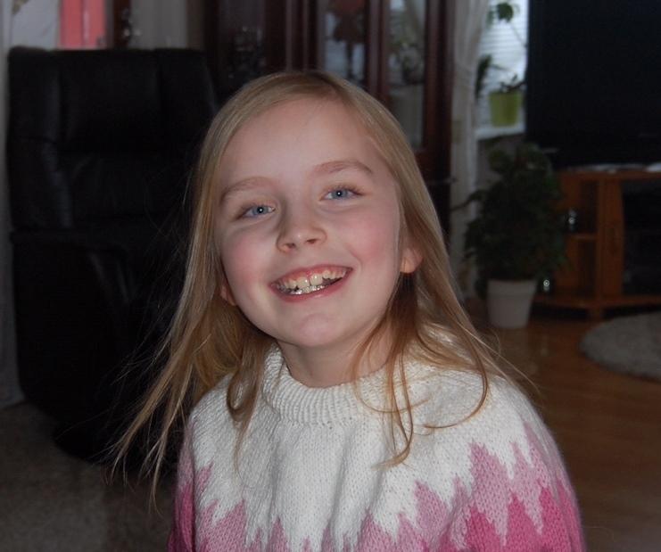 Julie Kleiven Pettersen 8 år