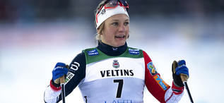 09.02.2019, Lahti Finland (FIN):Maiken Caspersen Falla (NOR) - FIS world cup cross-country, individual sprint, Lahti (FIN). www.nordicfocus.com. © Thibaut/NordicFocus. Every downloaded picture is fee-liable.