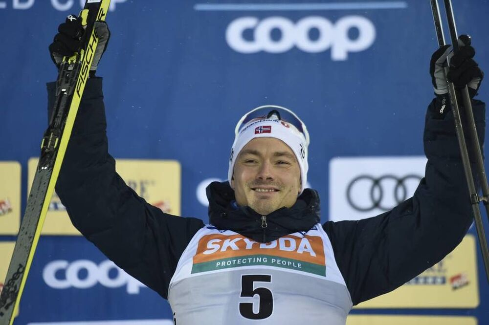 09.02.2019, Lahti Finland (FIN):Finn Haagen Krogh (NOR) - FIS world cup cross-country, individual sprint, Lahti (FIN). www.nordicfocus.com. © Thibaut/NordicFocus. Every downloaded picture is fee-liable.