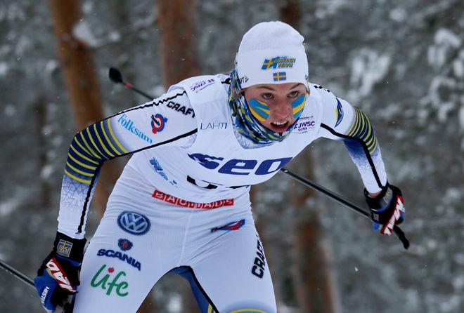 TILDE BÅNGMAN, Offerdals SK under JVM i Lahtis. Hon har hittat formen och kan ta över ledningen i D17-18 från Moa Hansson, Landsbro i helgen. Foto/rights: KJELL-ERIK KRISTIANSEN/kekstock.com