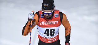 17.02.2019, Cogne, Italy (ITA):Gilberto Panisi (ITA) - FIS world cup cross-country, 15km men, Cogne (ITA). www.nordicfocus.com. © Thibaut/NordicFocus. Every downloaded picture is fee-liable.