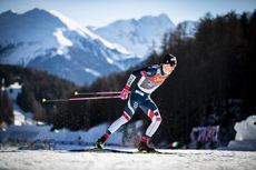 01.01.2019, Val Mustair, Switzerland (SUI):Johannes Hoesflot Klaebo (NOR) - FIS world cup cross-country, tour de ski, individual sprint, Val Mustair (SUI). www.nordicfocus.com. © Modica/NordicFocus. Every downloaded picture is fee-liable.