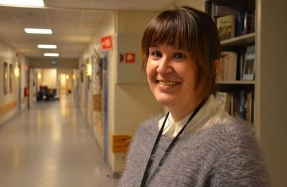 Demenskoordinator ved Jevnaker omsorgssenter, Karianne Andersen Bjune.