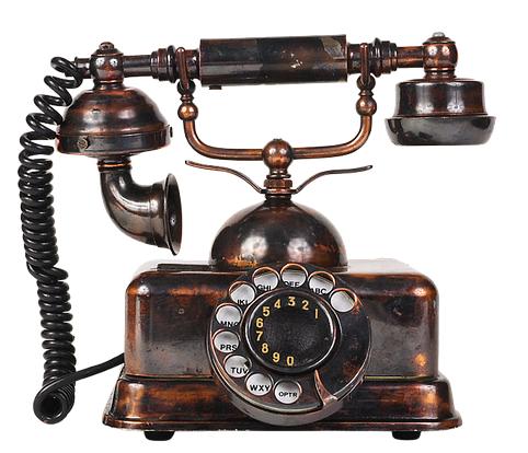 Telefon - gammel
