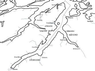 Illustrasjon kystosneplan kart