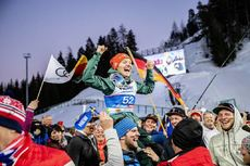 27.02.2019, Seefeld, Austria (AUT):Althaus Katharina (GER) - FIS nordic world ski championships, ski jumping ladies, individual HS109, Seefeld (AUT). www.nordicfocus.com. © Modica/NordicFocus. Every downloaded picture is fee-liable.