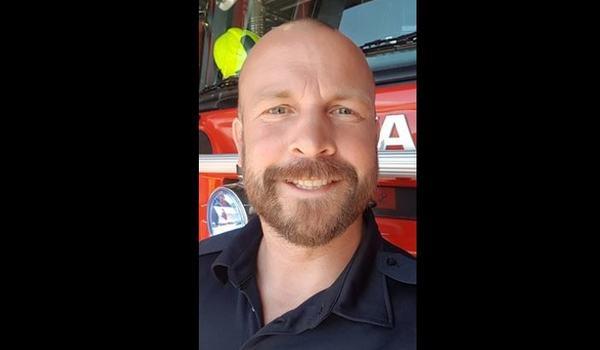 Profilbilde av ny brannsjef i Setesdal brannvesen IKS