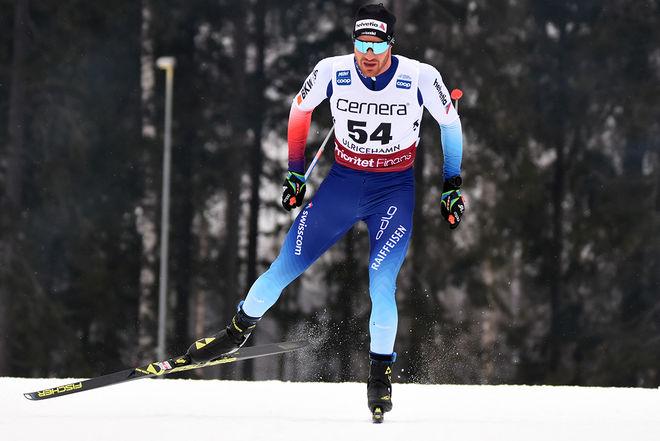 DARIO COLOGNA var snabbast i spurten och vann Engadin Skimarathon på hemmaplan. Foto/rights: ROLF ZETTERBERG/kekstock.com