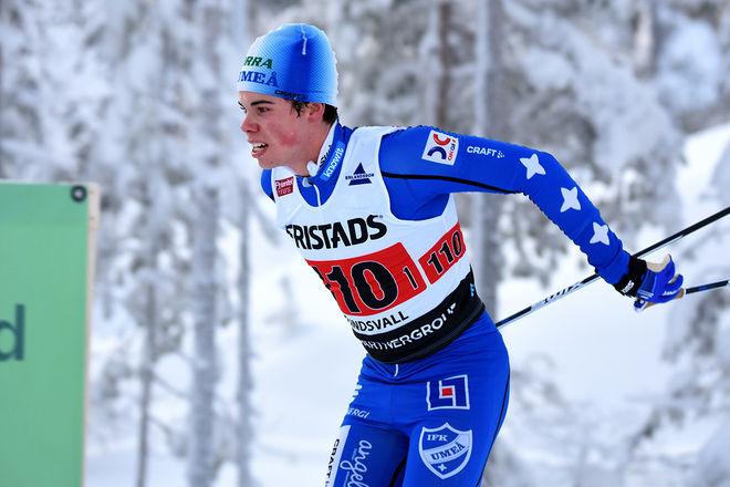 GUSTAV KVARNBRINK säkrade guld också i herrstafetten på JSM för IFK Umeå. Foto/rights: ROLF ZETTERBERG/kekstock.com