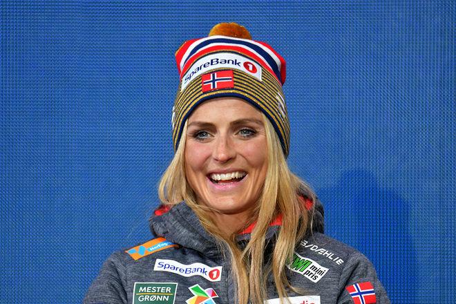 THERESE JOHAUG tänkte åka sprinten i Drammen på tisdag, men hon har nu ändrat sig och laddar för Falun i helgen istället. Foto/rights: ROLF ZETTERBERG/kekstock.com