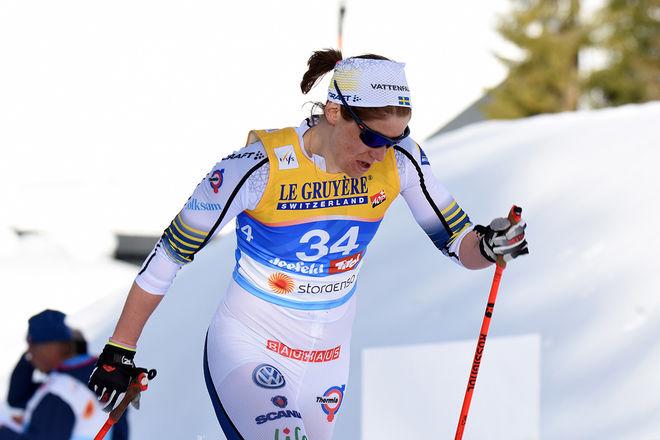 VM I SEEFELD blev det sista för Ida Ingemarsdotter. Veteranen från Åsarna och Sveg avslutar nu sin elitkarriär, en av dom mer framgångsrika av svenska längdåkare med både OS- och VM-guld. Foto/rights: ROLF ZETTERBERG/kekstock.com