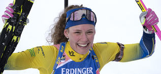 12.03.2019, Oestersund, Sweden (SWE):Hanna Oeberg (SWE) - IBU world championships biathlon, individual women, Oestersund (SWE). www.nordicfocus.com. © Manzoni/NordicFocus. Every downloaded picture is fee-liable.