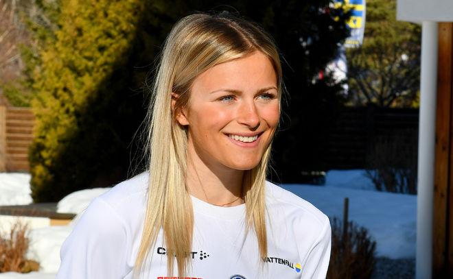 FRIDA KARLSSON finns med i landslaget som åker till världscupfinalen i Québec i Kanada efter Svenska Skidspelen i Falun i helgen. Foto/rights: ROLF ZETTERBERG/kekstock.com