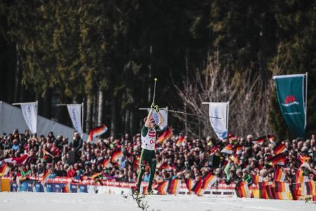 25.03.2018, Schonach, Germany (GER):Fabian Riessle (GER) - FIS world cup nordic combined, individual gundersen HS106/15km, Schonach (GER). www.nordicfocus.com. © Modica/NordicFocus. Every downloaded picture is fee-liable.