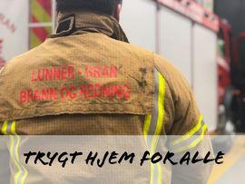 Lunner-Gran brann og redning jobber for et trygt hjem for alle innbyggere.