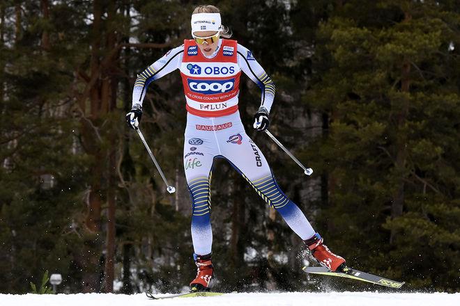 STINA NILSSON väljer att satsa på skidskytte efter sju år i längdlandslaget. Det är dagens stora skidsensation! Foto/rights: ROLF ZETTERBERG/kekstock.com