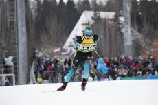 23.02.2019, Minks-Raubichi, Belarus (BLR):Martin Bourgeois Republique (FRA) - IBU Open European championships biathlon, sprint men, Minsk-Raubichi (BLR). www.nordicfocus.com. © Manzoni/NordicFocus. Every downloaded picture is fee-liable.