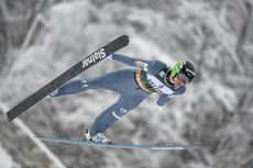 03.02.2019, Oberstdorf, Germany (GER):Domen Prevc (SLO) - FIS ski flying world cup, individual HS235, Oberstdorf (GER). www.nordicfocus.com. © Thibaut/NordicFocus. Every downloaded picture is fee-liable.