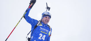 17.03.2019, Oestersund, Sweden (SWE):Dominik Windisch (ITA) - IBU world championships biathlon, mass men, Oestersund (SWE). www.nordicfocus.com. © Manzoni/NordicFocus. Every downloaded picture is fee-liable.