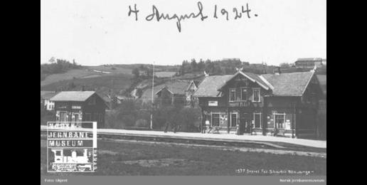 Lunner stasjon1924