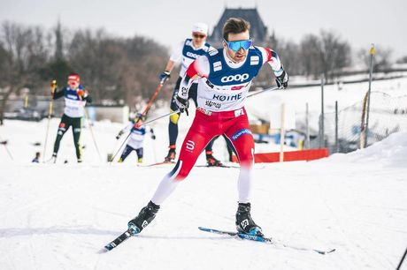 21.03.2019, Quebec, Canada (CAN):Sjur Roethe (NOR) - FIS world cup cross-country, training, Quebec (CAN). www.nordicfocus.com. © Modica/NordicFocus. Every downloaded picture is fee-liable.