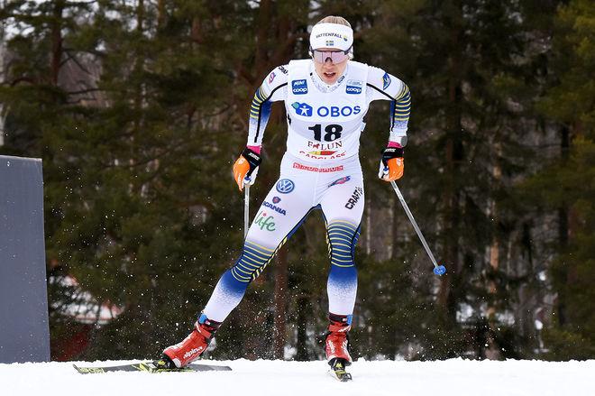 JONNA SUNDLING imponerade och vann kvalet i världscupfinalen i Quebec före Stina Nilsson. Foto/rights: ROLF ZETTERBERG/kekstock.com