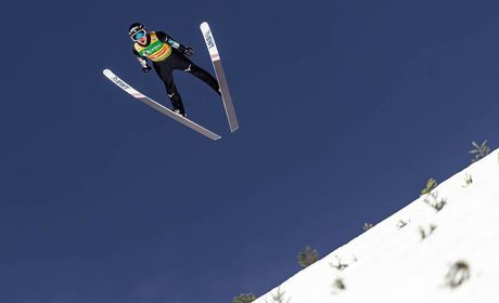 24.03.2019, Planica, Slovenia (SLO): Ryoyu Kobayashi (JPN)- FIS world cup ski flying, individual HS240, Planica (SLO). www.nordicfocus.com. © Nordicfocus/EXPA/JFK. Every downloaded picture is fee-liable.