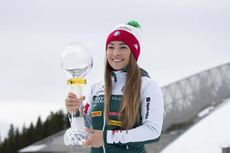24.03.2019, Oslo, Norway (NOR):Dorothea Wierer (ITA) - IBU world cup biathlon, cups, Oslo (NOR). www.nordicfocus.com. © Manzoni/NordicFocus. Every downloaded picture is fee-liable.