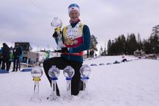 24.03.2019, Oslo, Norway (NOR):Johannes Thingnes Boe (NOR) - IBU world cup biathlon, cups, Oslo (NOR). www.nordicfocus.com. © Manzoni/NordicFocus. Every downloaded picture is fee-liable.