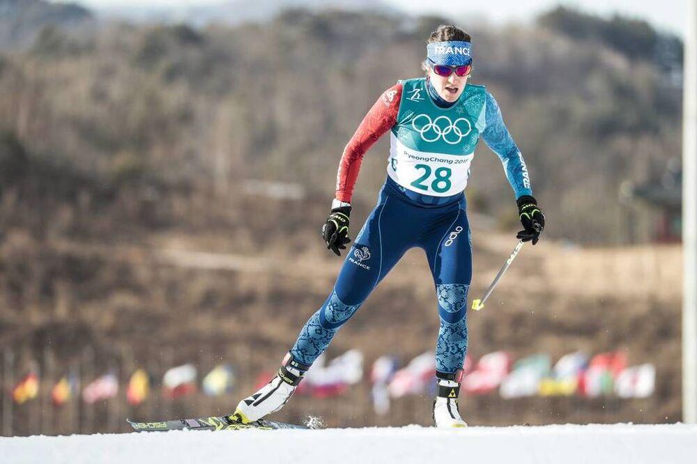 15.02.2018, Pyeongchang, Korea (KOR):Coraline Thomas Hugue (FRA) - XXIII. Olympic Winter Games Pyeongchang 2018, cross-country, 10km women,  Pyeongchang (KOR). www.nordicfocus.com. © Modica/NordicFocus. Every downloaded picture is fee-liable.