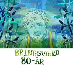 Bringsværd 80 år Illustrasjon