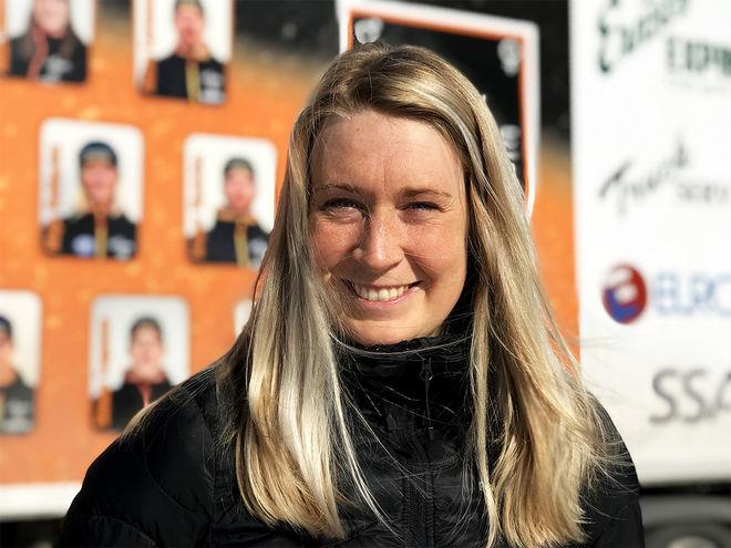 EMILIA LINDSTEDT gjorde ett monsterlopp över 220 km i Nordenskiöldsloppet förra året. Nu är hon i Gällivare som elitledare för Falun-Borlänge SK. 28 år gammal har hon lagt av. Foto/rights: KJELL-ERIK KRISTIANSEN/kekstock.com