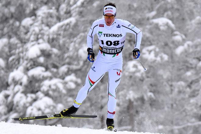 JOHAN HÄGGSTRÖM vann SM-femmilen med 5 futtiga sekunder efter en riktig thriller mot Simon Lageson. Foto/rights: ROLF ZETTERBERG/kekstock.com