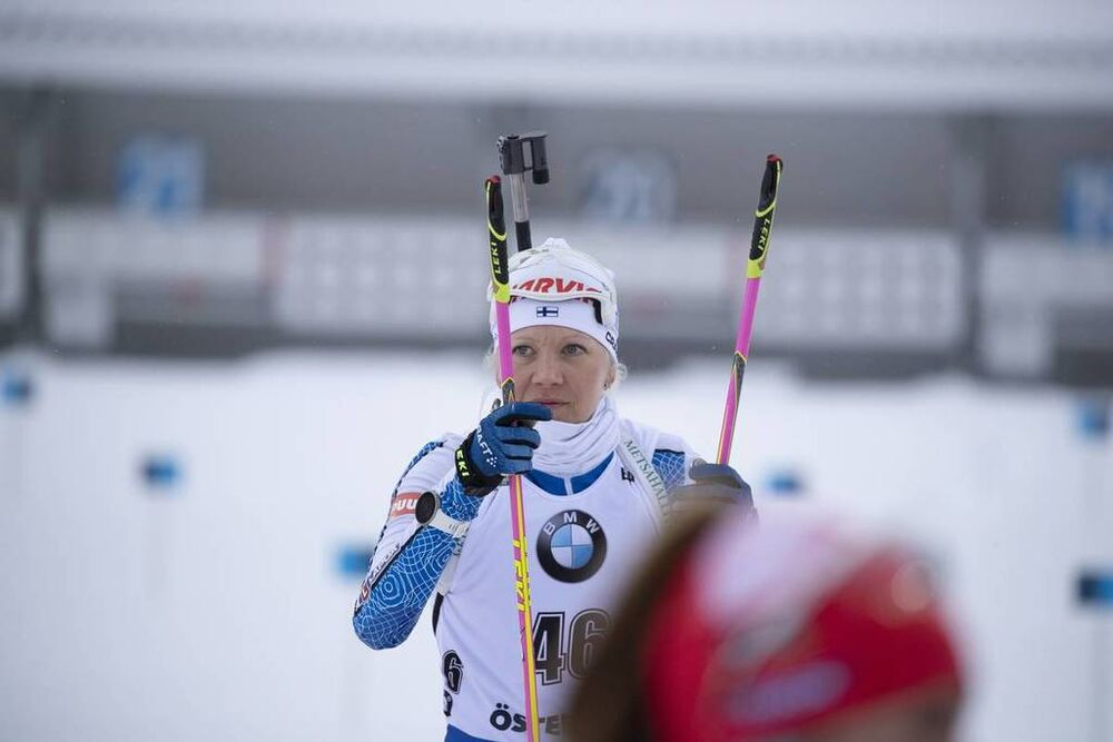 08.03.2019, Oestersund, Sweden (SWE):Kaisa Makarainen (FIN) - IBU world championships biathlon, sprint women, Oestersund (SWE). www.nordicfocus.com. © Manzoni/NordicFocus. Every downloaded picture is fee-liable.
