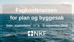 Fagkonferansen for plan og byggesak