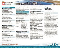 Kunngjøring fra Hammerfest kommune for uke 14