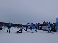 Finish pic of Ugra Skimarathon 2019 FINAL STAGE FIS Worldloppet Cup