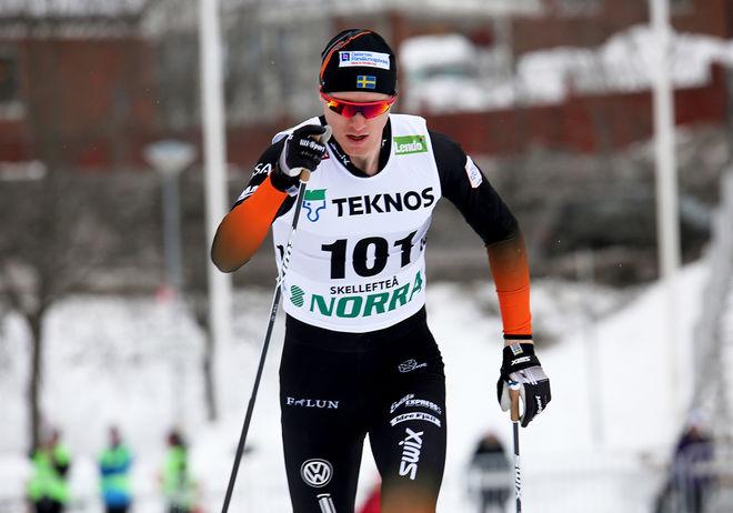 OSKAR SVENSSON, Falun-Borlänge SK vann Årefjällsloppet i herrklassen och Ebba Andersson, Sollefteå var överlägsen bland damerna. Foto/rights: KJELL-ERIK KRISTIANSEN/kekstock.com