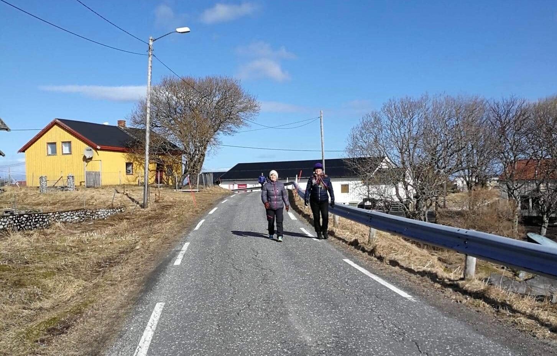 Bålmarsj på Seløy 07