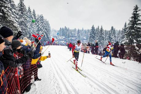 09.03.2019, Oslo, Norway (NOR):Jack Carlyle (CAN) - FIS world cup cross-country, mass men, Oslo (NOR). www.nordicfocus.com. © Modica/NordicFocus. Every downloaded picture is fee-liable.
