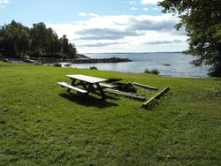 Krokstrand_badeplass Foto: Oslofjorden.com